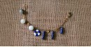 Bunched Together ✪ Stone Jewelry ✪ Tube Charm Bracelet { 11 }