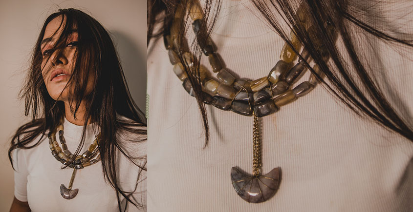 Bunched Together ✪ Stone Jewelry ✪ Chand Necklace { 42 }