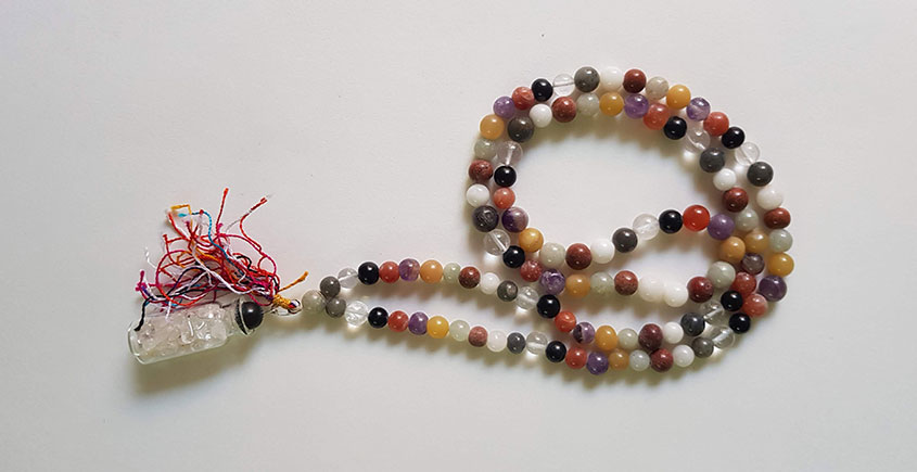 Bunched Together ✪ Stone Jewelry ✪ Multi Color Stones Mala { 2 }