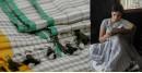 Nool ✻ Handwoven Linen Saree ✻ 3