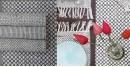 Pomegranate ◐ Cotton Table Mats & Runner { Set- 6 Mats & 1 Runner } ◐ 18