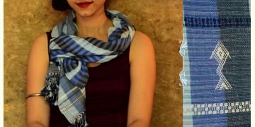 Urvashi ~  Handwoven stole { Bamboo Fiber + Cotton } C