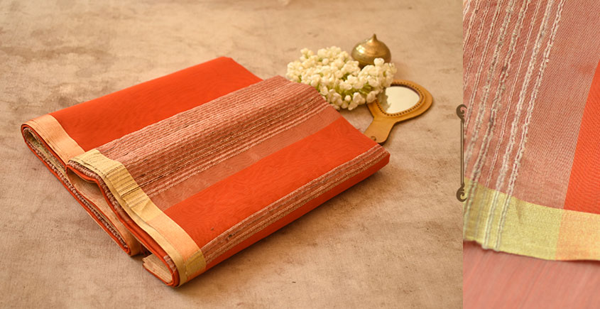 Tabassum ☙ Maheshwari Silk Saree ☙ 2