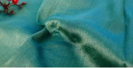 Handwoven Fabric ⚵ Tissue Silk Maheshwari ⚵ 3 { 2.5 meter }