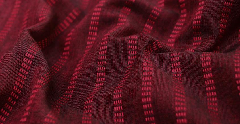 Maheshwari Handwoven Fabric ⚵ Cotton ⚵ 8 { 2.25 meter }