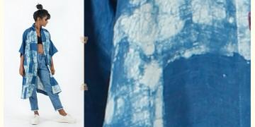 Rebirth in clay ⚘ Natural Dyed ⚘ Indigo white Long Shirt ⚘ 26