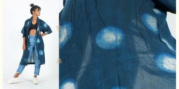 Rebirth in clay ⚘ Natural Dyed ⚘ Dark Indigo moon long Shirt ⚘ 27