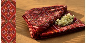 Malhar ✼  Singal Ikat . Double Ikat Patola Saree ~ { M }