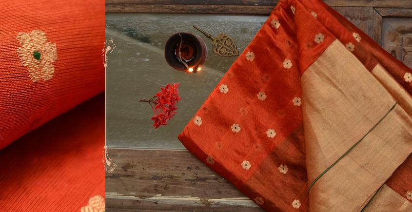 काशिका ⚛ Pranpur Mulberry Silk Saree ⚛ 8