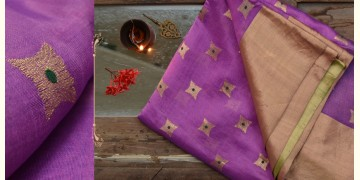 काशिका ⚛ Pranpur Mulberry Silk Saree ⚛ 18