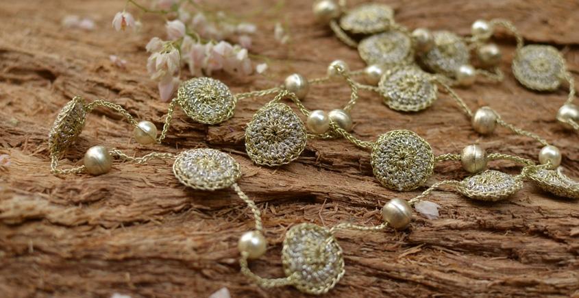 Samoolam ⚘ Crochet jewelry { Necklace } 41