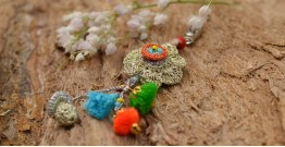 Samoolam ⚘ Crochet jewelry { Keychain } 01