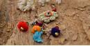 Samoolam ⚘ Crochet jewelry { Keychain } 02