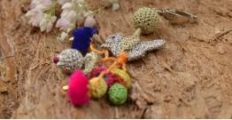 Samoolam ⚘ Crochet jewelry { Keychain } 03
