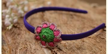 Samoolam ⚘ Crochet jewelry { Hair Band } 09