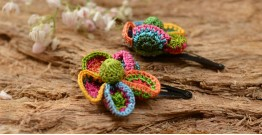 Samoolam ⚘ Crochet jewelry { Hair Clips } 25