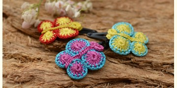 Samoolam ⚘ Crochet jewelry { Hair Clips } 29