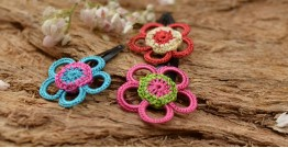 Samoolam ⚘ Crochet jewelry { Hair Clips } 30
