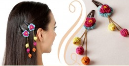 Samoolam ⚘ Crochet Accessories { Hairclip } ⚘ 2