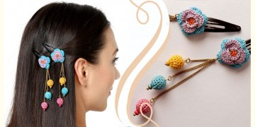 Samoolam ⚘ Crochet Accessories { Hairclip } ⚘ 1