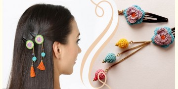 Samoolam ⚘ Crochet Accessories { Hairclip } ⚘ 4
