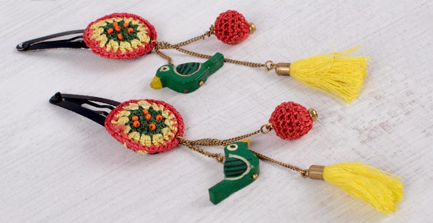 Samoolam ⚘ Crochet Accessories { Hairclip } ⚘ 10