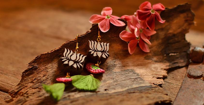 Crochet jewelry { Earrings } 1