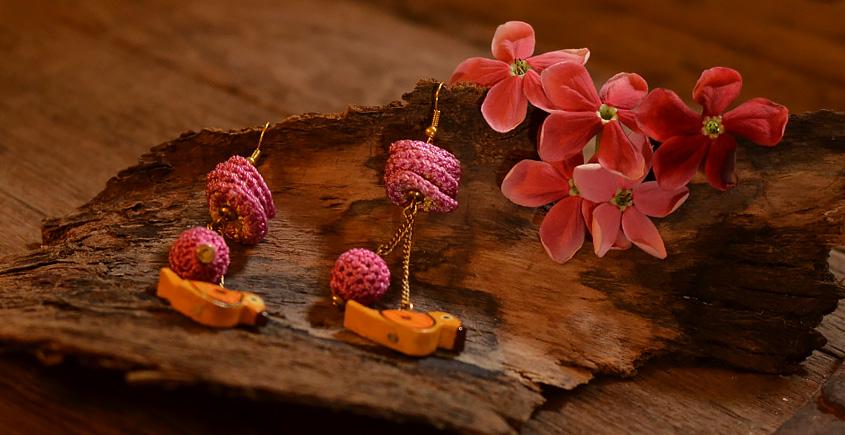 Crochet jewelry { Earrings } 11