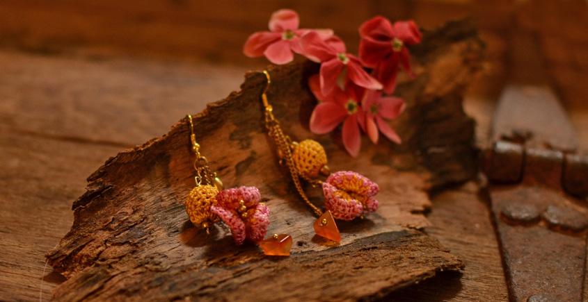 Crochet jewelry { Earrings } 16