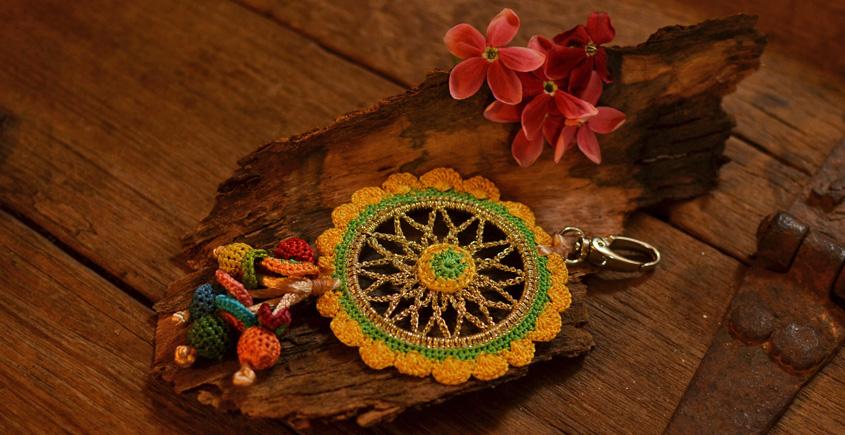 Crochet jewelry { Keychain } 21
