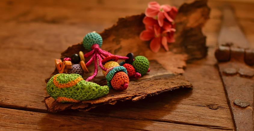 Crochet jewelry { Keychain } 23