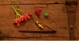 Crochet jewelry { Hair Stick } 26