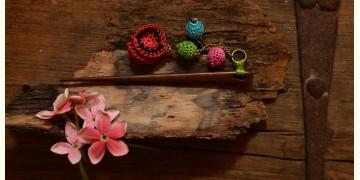 Crochet jewelry { Hair Stick } 30