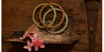 Crochet jewelry { Bangles ~ Set of Three } 32