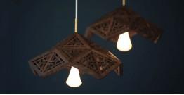 Kashmiri Pinjra Kari . Pendent lamp - 2