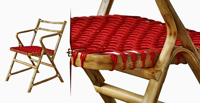 Truss Me ~ 'A' Chair with woven seat