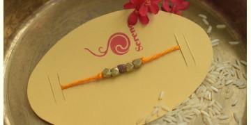 Brass ❂ Handmade . Rakhi { h }