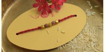 Brass ❂ Handmade . Rakhi { i }
