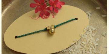 Brass ❂ Handmade . Rakhi { j }