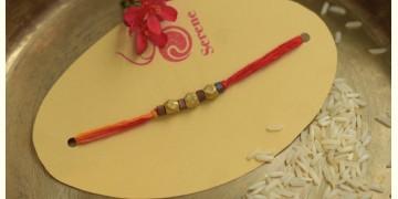 Brass ❂ Handmade . Rakhi { k }