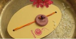 Terracotta ❂ Handmade . Rakhi { f }