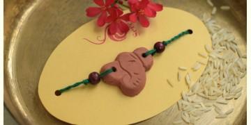 Terracotta ❂ Handmade . Rakhi { g }