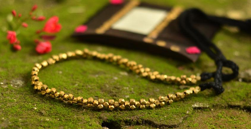 Matsyagandha ❂ Brass Jewellery ❂ Necklace { 12 }