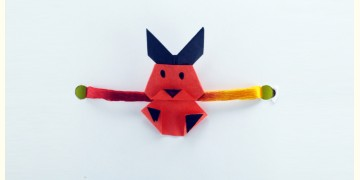 Paper Origami╶◉╴Rakhi { Red Bunny }