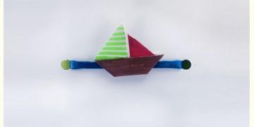 Paper Origami╶◉╴Rakhi { Brown Boat }