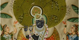 Krishna with Gopi  ( 35 X 24 inch )