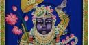 Shrinath bright blue background