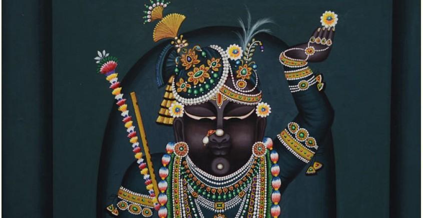 Pichwai Painting ~ Shrinath ji  ( 19 X 13 inch )