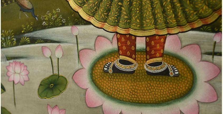 Pichwai Painting ~ Shrinathji  ( 35 X 48 inch )