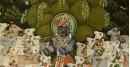 Pichwai Painting ~ Sri Krishna with Cow  ( 33 X 43 inch )